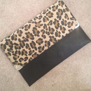 Clutches & Wallets - Leopard clutch