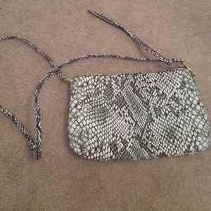 H&M Clutches & Wallets - Python cross body bag