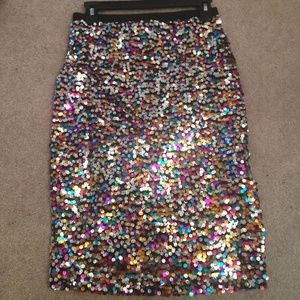 H&M Dresses & Skirts - H and m sequin pencil skirt!