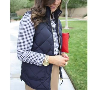 J Crew Jackets Amp Coats J Crew Factory Quilted Puffer