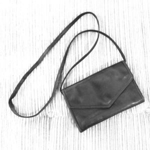 Vintage J. Duseu Leather Crossbody Purse/Clutch