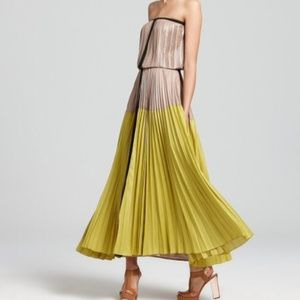 BCBGMaxAzria Dresses & Skirts - 👀ISO👀 BCBG MaxAzria LILYAN Colorblock maxi dress