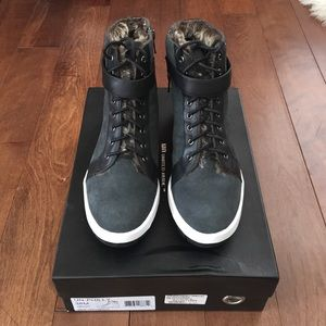 United Nude Faux Fur Lined High Top