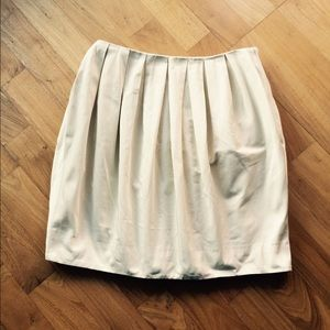 H&M pleated bubble hem mini skirt XS