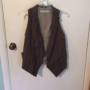 Olive Zara vest