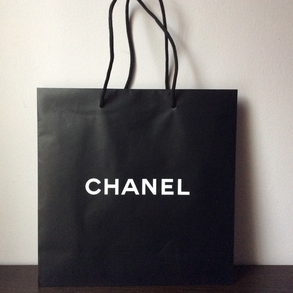 70% off CHANEL Other - Authentic Chanel medium paper shopping bag ...