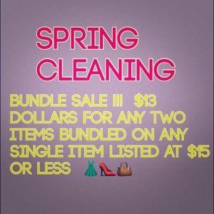 Other - bundle sale Bundle Sale
