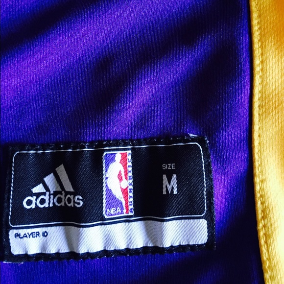89% off Adidas Tops - SALE! Lakers Youth Kobe Bryant Jersey--NWOT