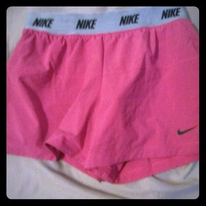 Hot Pink Women's Dri Fit Nike Shorts