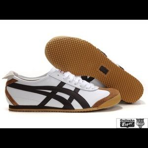 Onitsuka Tiger Mexico 66 White/Dark Brown