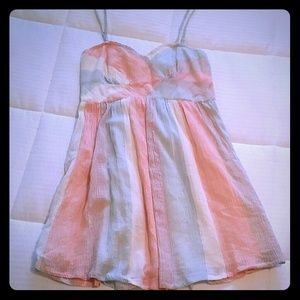 Free People Watercolor Sundress NWT