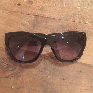 "Prada ""Poeme"" black cat eye sunglasses"