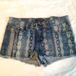 Tribal Print Shorts from Forever 21