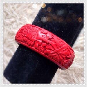 Jewelry - ORIENTAL 100% CORAL BANGLE