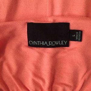 Cynthia Rowley Dresses - Cynthia Rowley Peach High-Low Maxi Dress