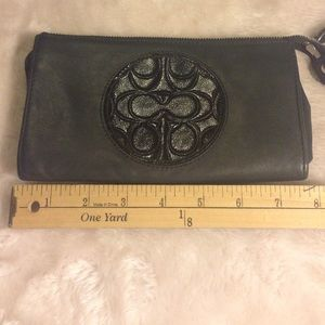 Large Coach Wallet/Wristlet