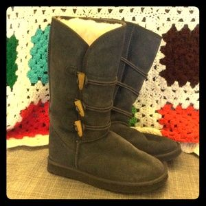 EMU Shoes - new Ukala Emu wool and suede gray boots size 7