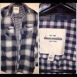 Abercrombie flannel shirt