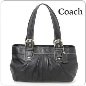 Gorgeous Black COACH Large Leather Soho Bag