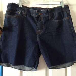 Denim cutoff shorts from Lucky Brand