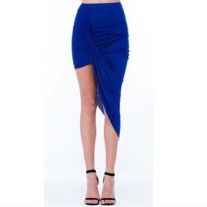 63 dresses skirts new royal blue bodycon
