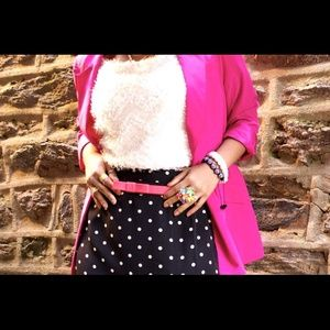 Forever 21 Jackets & Blazers - Forever21 Pink Power Blazer