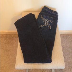 7FAM flynt boot cut jeans