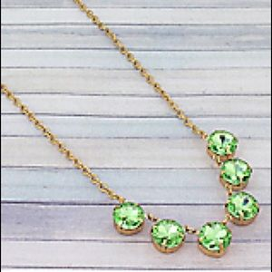 Mint Crystal necklace