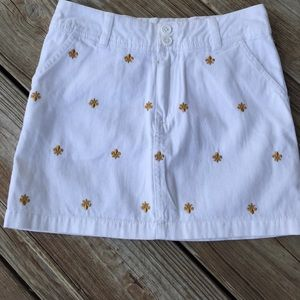 Aphorism Other - Aphorism short white skirt