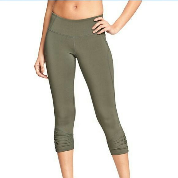 63% off Old Navy Pants - Olive green workout yoga pants from ...