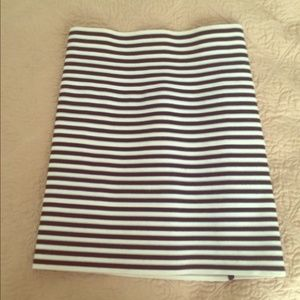 Pleasure Doing Business Dresses & Skirts - Striped bandage skirt