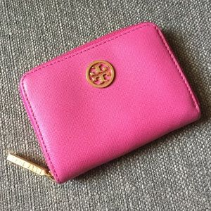 Tory Burch Robinson Coin Case