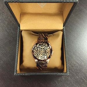 Guess Jewelry - GUESS Watch - Leopard Print