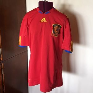 National Soccer Team Jersey for Spain Adidas