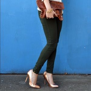 Zara Pants - Dark Green Pants