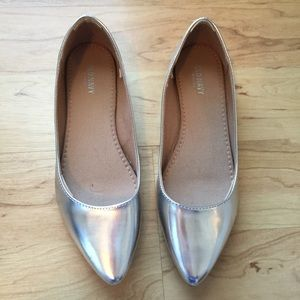 Old Navy Shoes - Mirror Metallic Flats