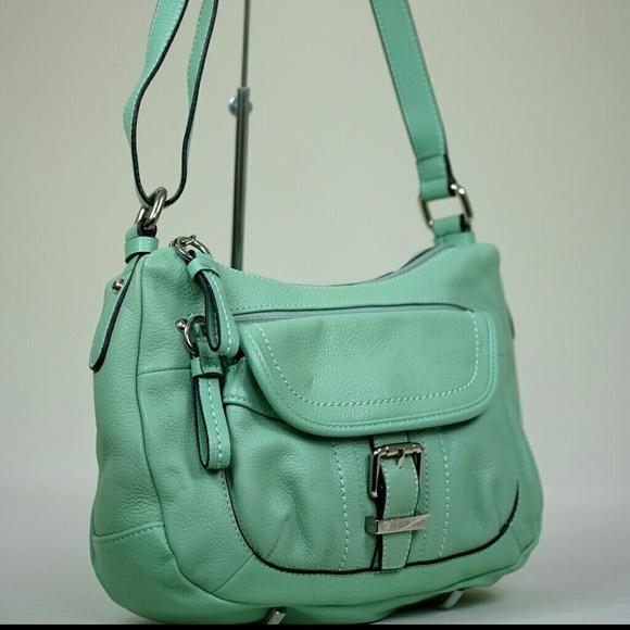 43% off Giani Bernini Handbags - Giani Bernini mint green leather ...