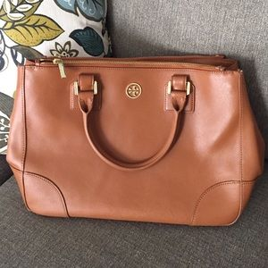 BUNDLE Tory Burch Robinson double zip totes