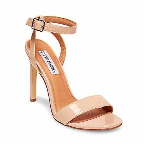 41% off Steve Madden Shoes - Steve Madden Nude Heels Size 6 from ...