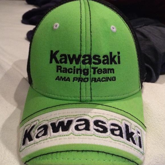 Kawasaki Accessories - Kawasaki racing team hat 08f269a0f336