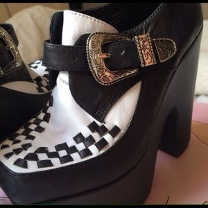 "Jeffrey Campbell ""WARNING"" shoe"