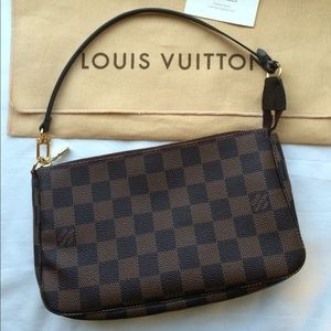 Louis Vuitton Pochette Accessories Damier Ebene
