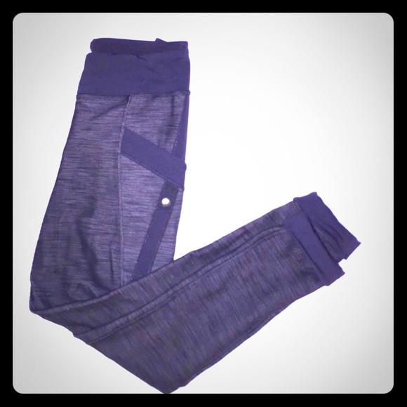 87919e6b9a314 lululemon athletica Pants - RARE Lululemon Warrior Pant Coal Fossil Slub  Denim