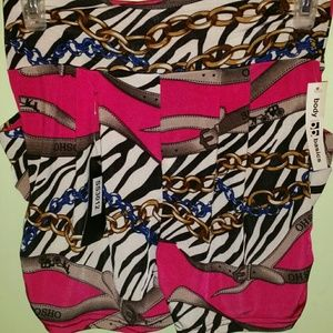 Patterned Parachute Shorts - NWT