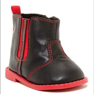 Josmo Other - Josmo Goring winter Bootie Baby black and red