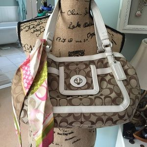 Price Reduced!!Authentic Coach Handbag
