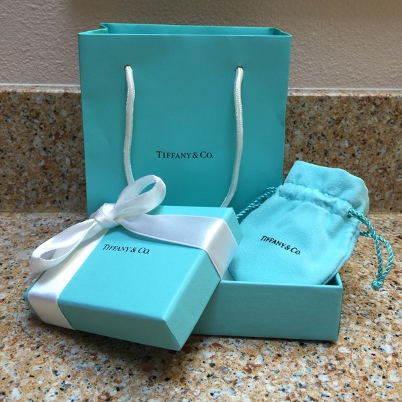 Tiffany Amp Co Jewelry Authentic Tiffany Co Small Bag Box