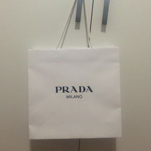 Prada - Authentic PRADA paper gift bag, medium size from ??lulu ...