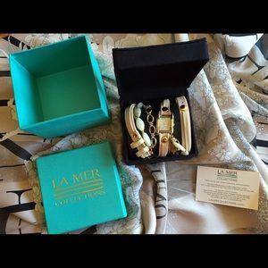 La Mer Wrap Bracelet Watch