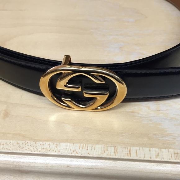ba619514b05e3 Gucci Accessories - Black Gucci belt size 75